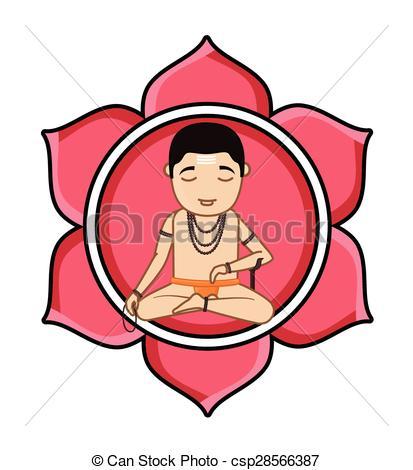 Indian clipart brahmin Concentrating Brahmin csp28566387 of Samadhi