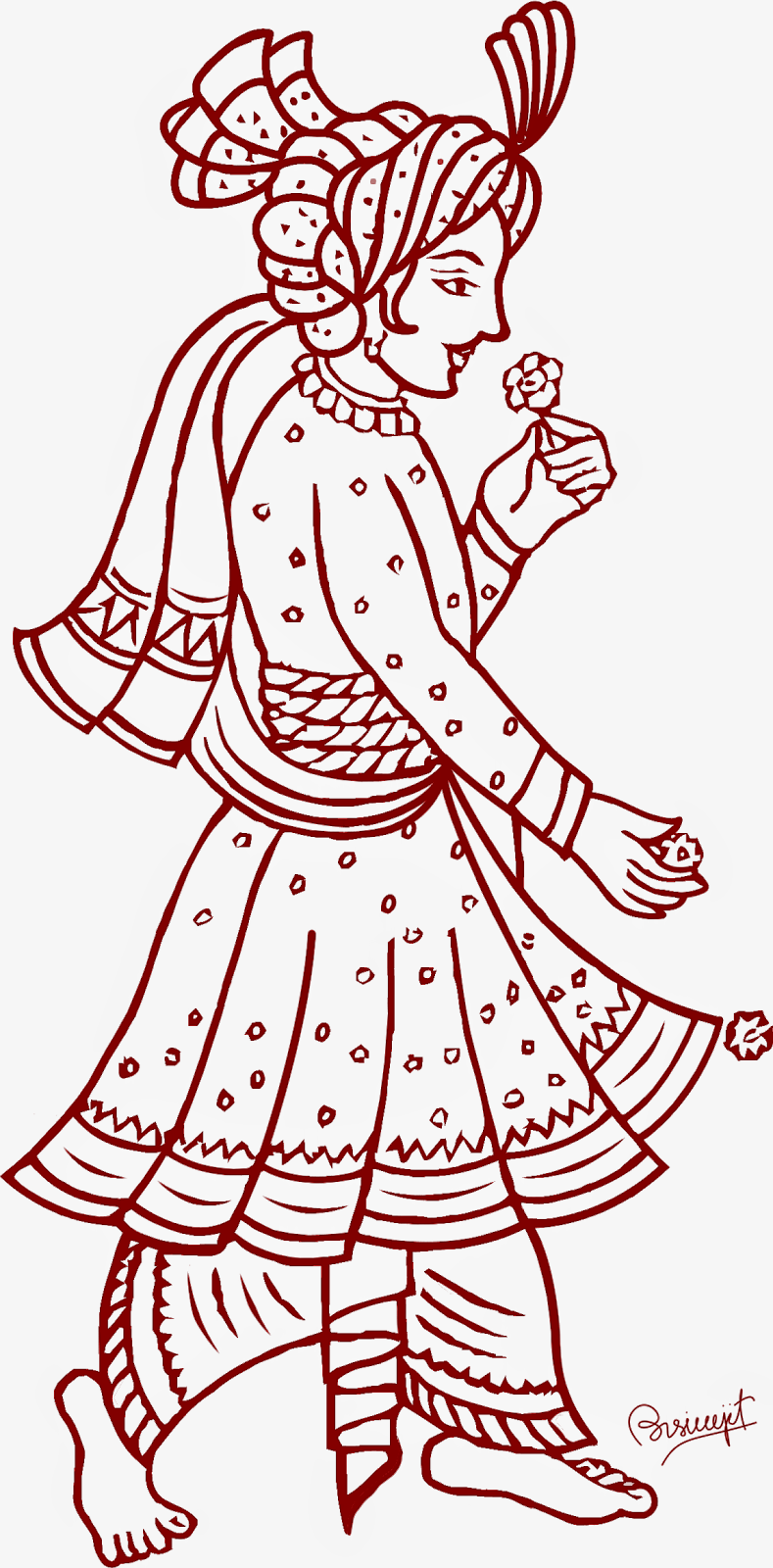 Indian clipart bride groom Clip clipart Indian Free Art