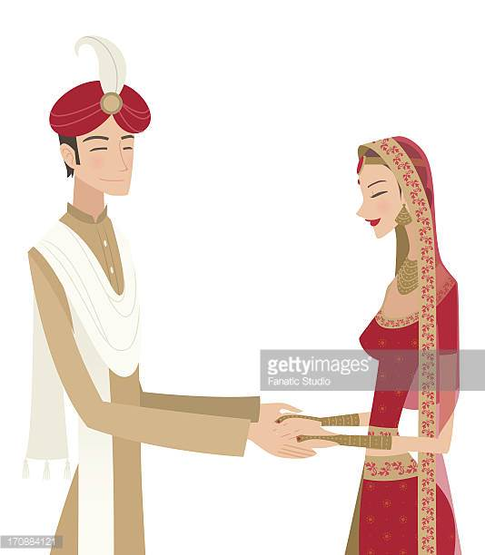 Indian clipart bride groom Clipground and Ceremony Traditional bride