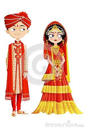 Indian clipart bride groom Fotos especiais Pinterest Wedding Indian