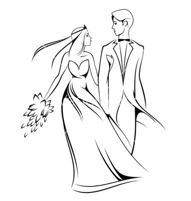 Indian clipart bride groom Illustration images VectorStock® 228679 on