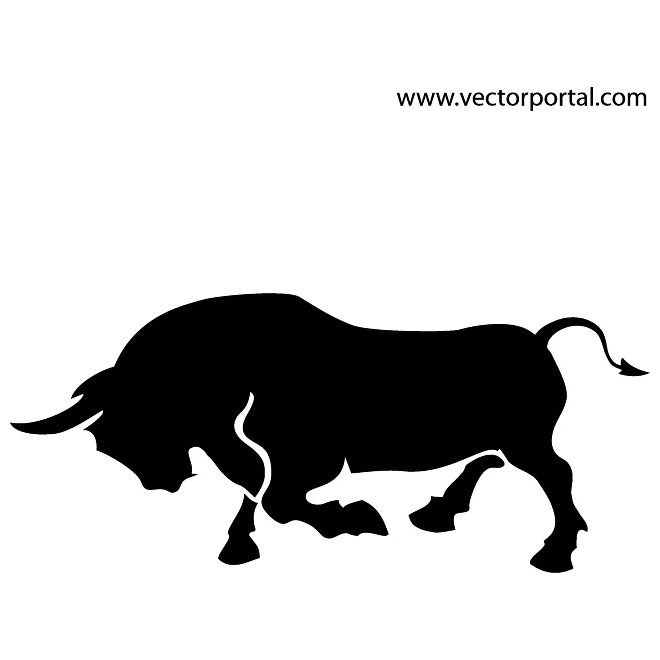 Ox clipart raging bull Charging bull bull Indian Clipground