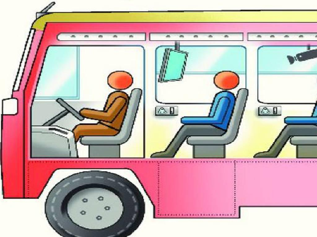 Indian clipart bus driver Road  likely Transport driver: