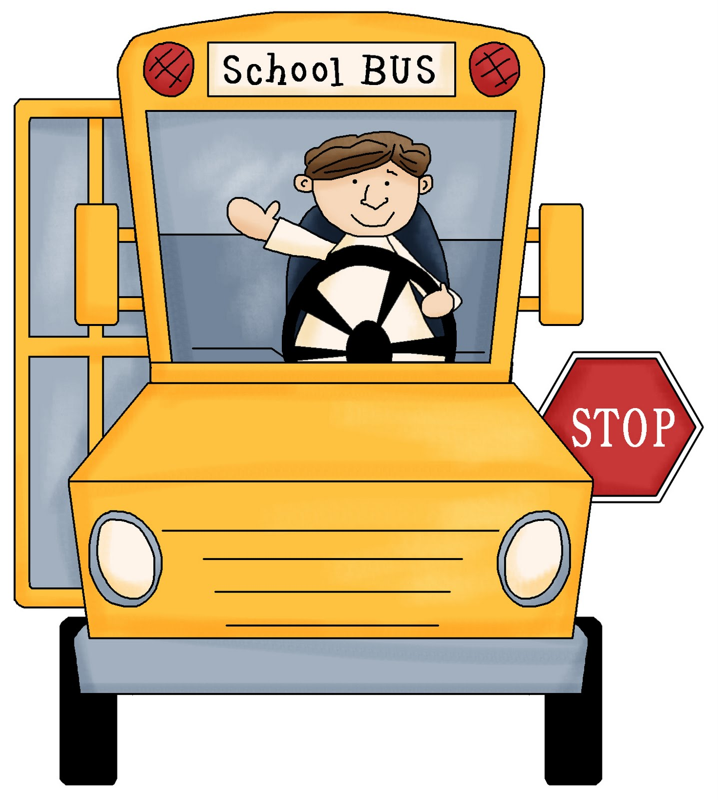 Indian clipart bus driver School Image Bus Driver Cute
