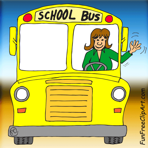 Indian clipart bus driver Free 6042 Clip Clip School