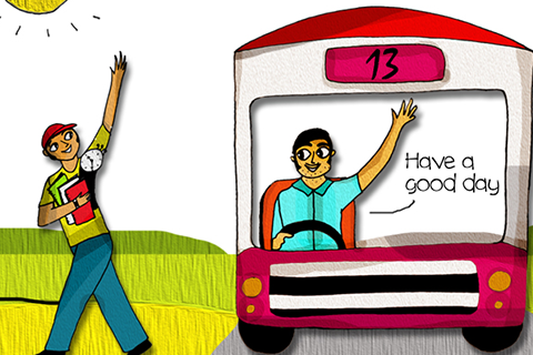 Indian clipart bus driver 13 13 driver Better driver