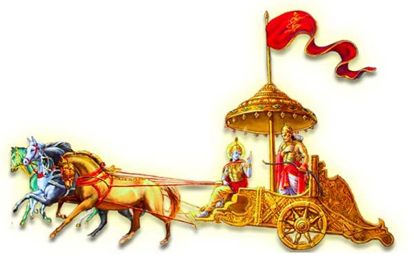 Indian clipart chariot Indian the Gita Jyoti Divya
