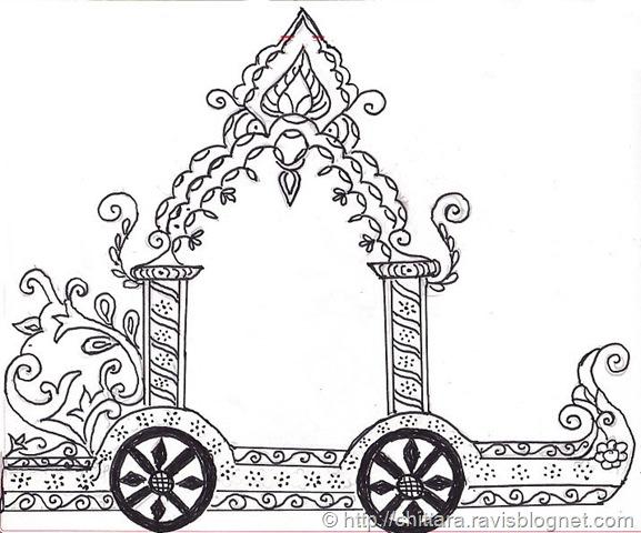 Indian clipart chariot 2012 May Rangoli Rangoli Kolangal: