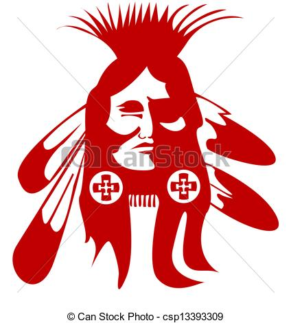 Chief clipart indian mascot Clipart Indian Search Vector Head