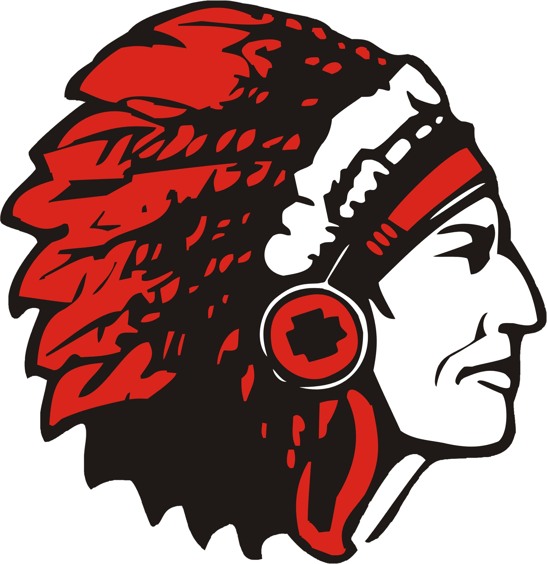 Indian clipart choctaw  High School Bands Choctaw