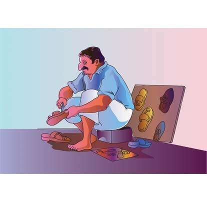 Indian clipart cobbler Cliparts  Indian Original vector