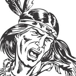 Indian clipart axe Comanche clipart Clipartix indian clipart