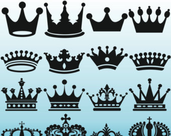 Indian clipart crown Silhouettes Crown Art Royal Silhouettes