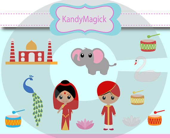 Indian clipart cute Graphics Clip Cute Cute and