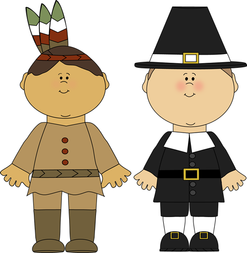 Native American clipart pilgrims And pilgrims png Boy Cute