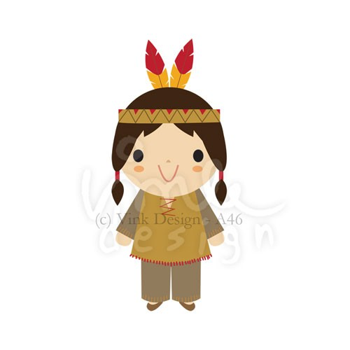 Indian clipart cute Indian Indian Clipart Images Art