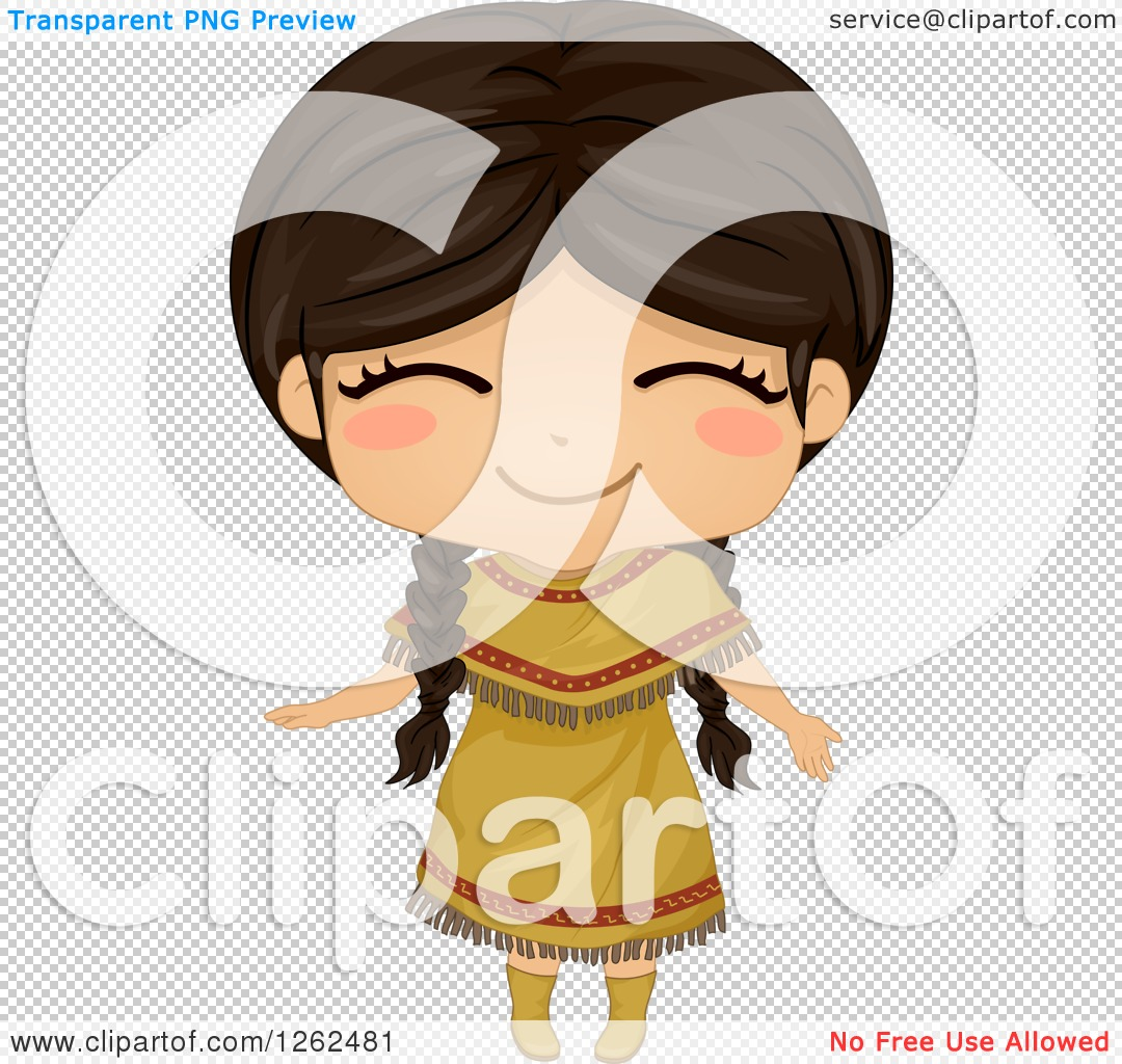 Indian clipart cute Collection Clipart Girl indians clipart