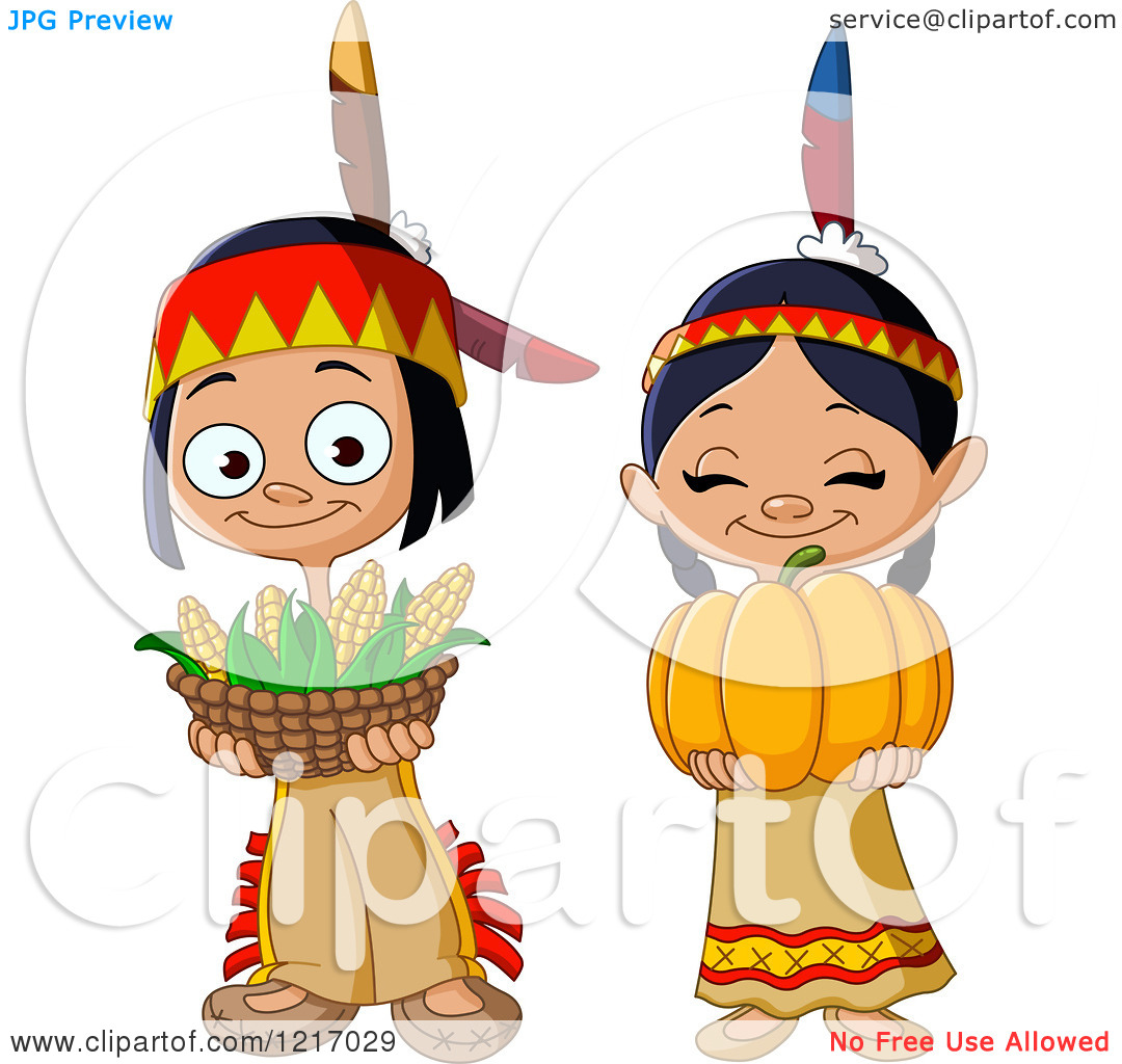 Indian clipart cute Download Clipart Indian Thanksgiving Clipart