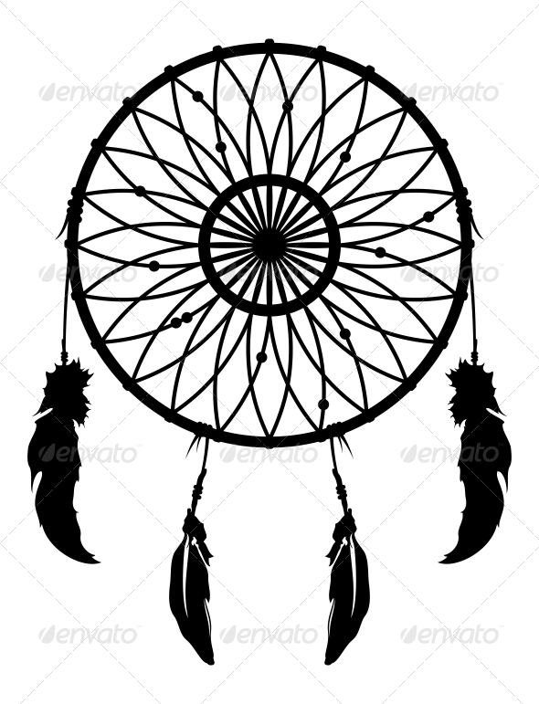 Native American clipart dream catcher Dream silhouette Chicago A catchers