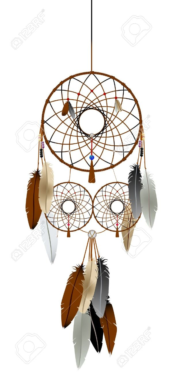 Indian clipart dream catcher Collection Catcher silhouette Native Clipart