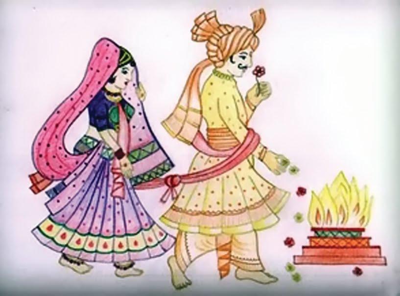 Indian clipart dulha dulhan 29 Indian Wedding Clipart 101