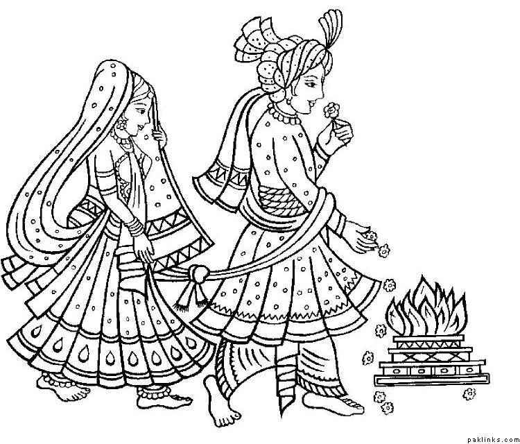 Arabian clipart hindu marriage #5