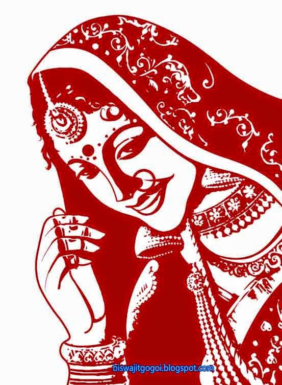 Bride clipart indian wedding #2