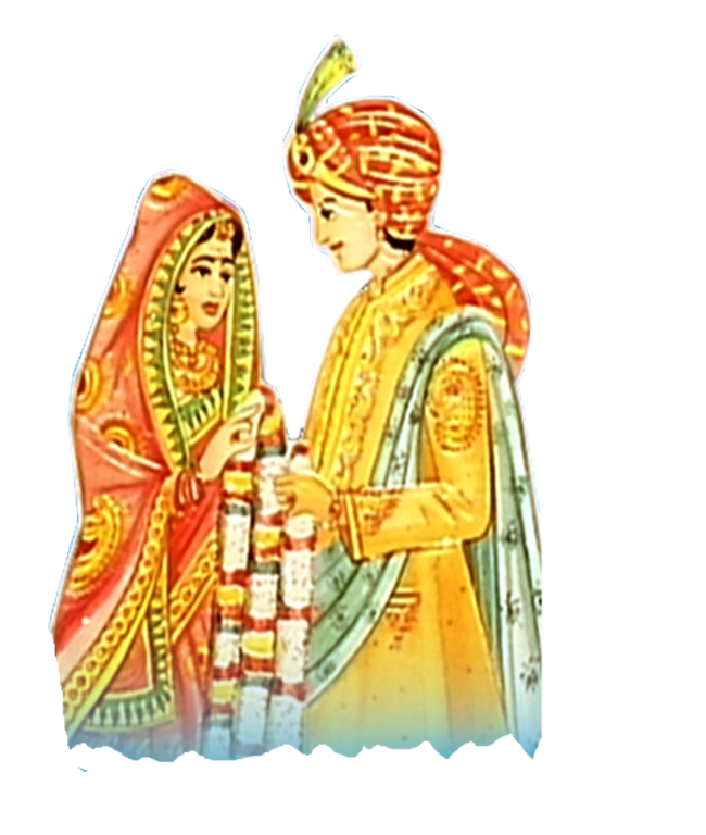 Indian clipart dulha dulhan Download indian  wedding free