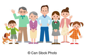 Asians clipart family member Clipart 4 vector Illustrations 245