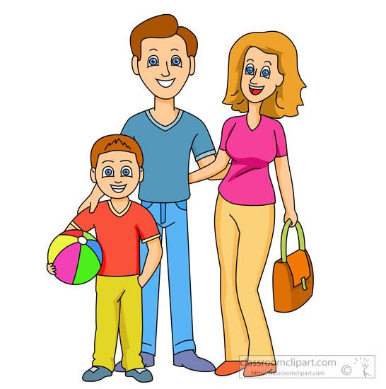 People clipart dad Clipart Members family%20clipart%205%20people Free Panda