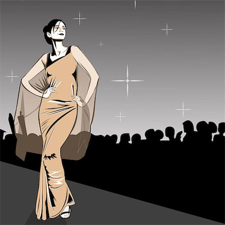 Indian clipart fashion show Fashion for Royalty Premium Code