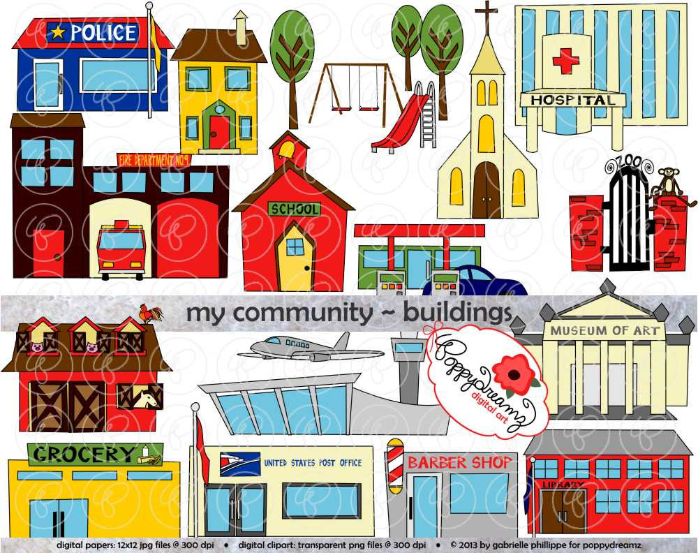 Library clipart different place (300 School Clipart: Clip Art