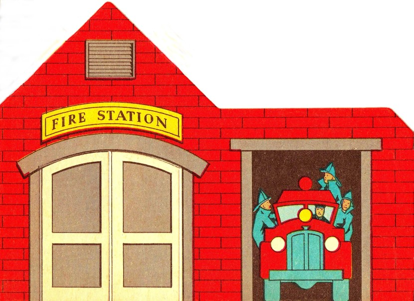 Police clipart fire station #1