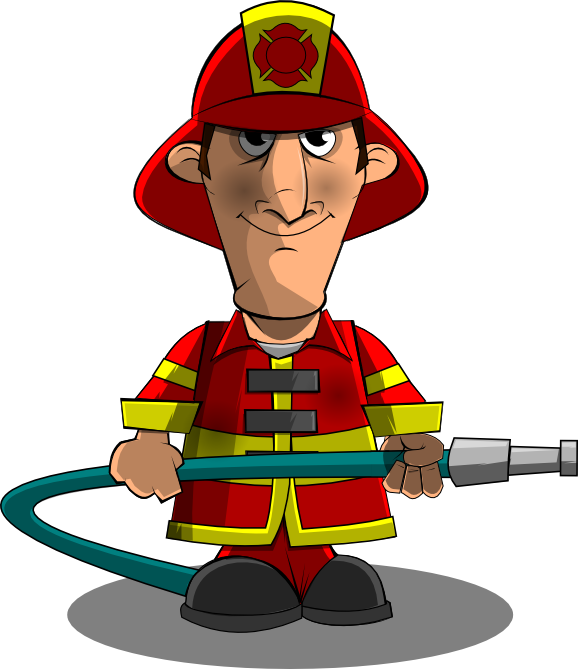 Skiing clipart person skiing Clipart Free Panda Clipart firefighter
