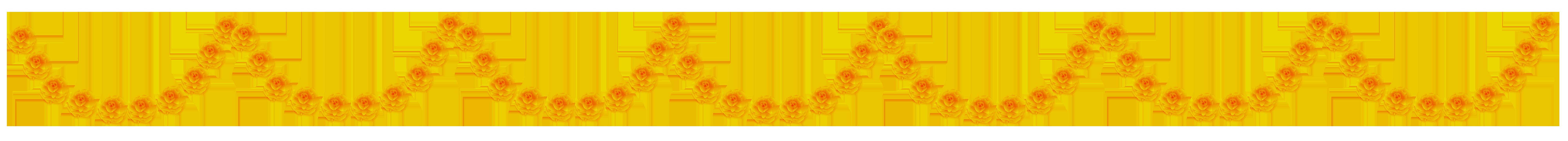 Yellow Flower clipart garland Art Flower View  PNG