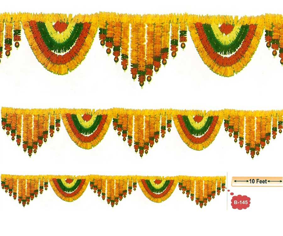 Indian clipart flower garland Of toran flower a wide