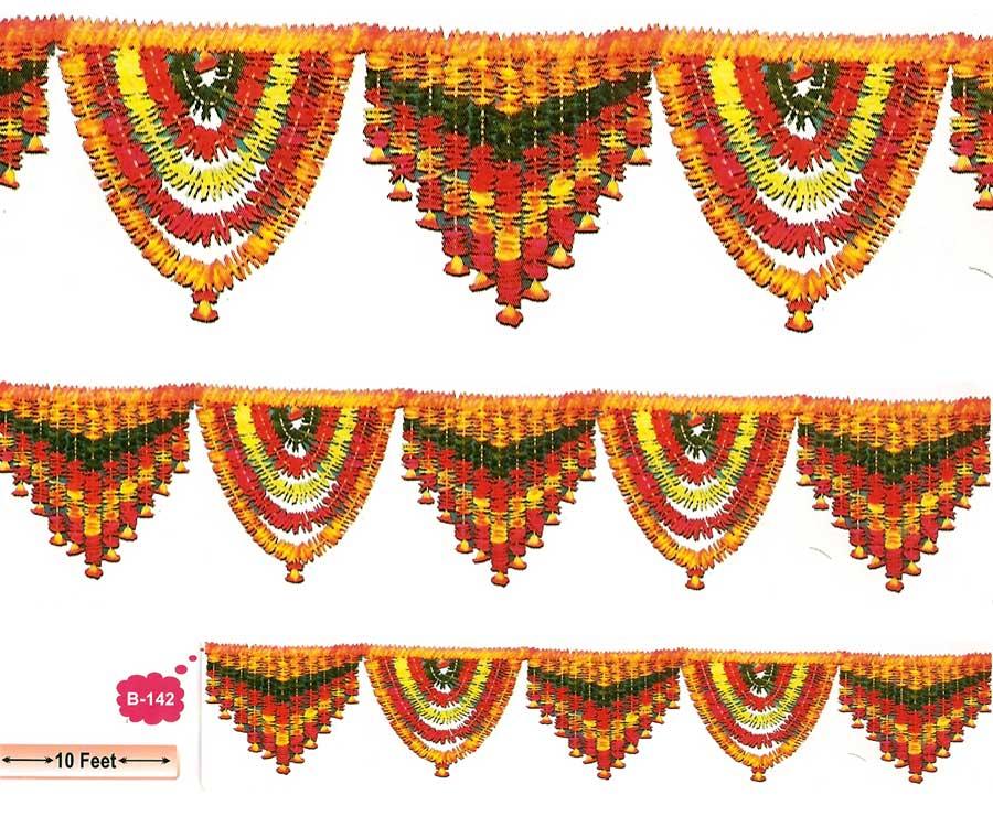 Indian clipart flower garland B B Flower 142 Window
