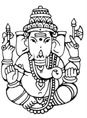 Indian clipart ganesh Patterns images on 76 best