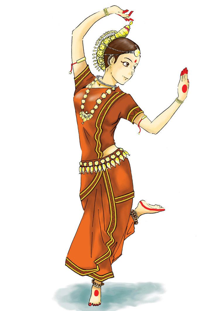 Indian clipart group dance Odissi ChronosGuArdian on  deviantART