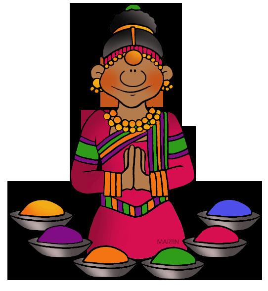 Indian clipart holi Phillip Holi Clip Art India