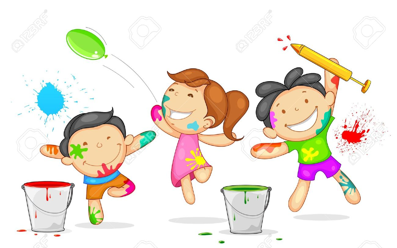 Indian clipart holi Free Images Clipart Clipart Holi