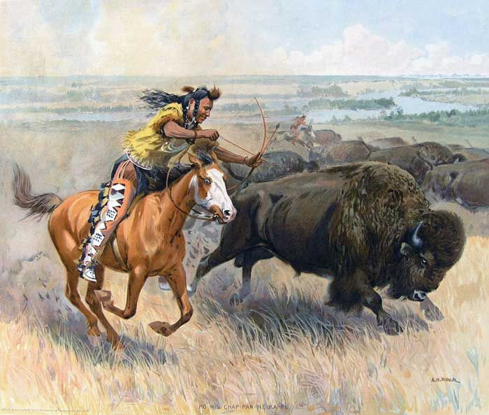 Indian clipart hunting buffalo Pinterest best Buffalo on about