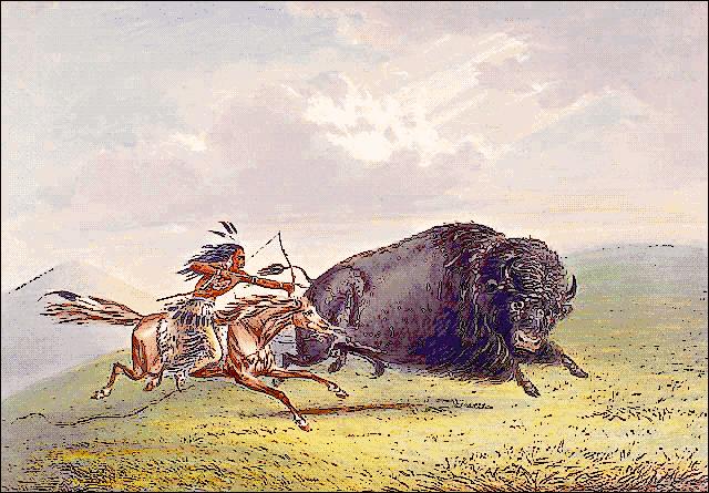 Indian clipart hunting buffalo Clip Download Buffalo Buffalo Art