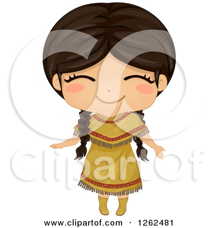 Indian clipart little Clipart Girl Indian Girl Indian