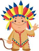 Indian clipart little Indian Clip b GoGraph Free
