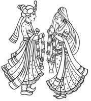 Arabian clipart hindu marriage #2