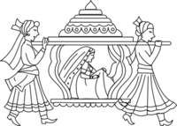 Indian clipart marriage ceremony Clip Wedding Google clipart Hindu