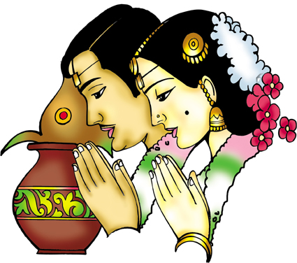Indian clipart marriage ceremony Clip clipart Collection Clipart Hindu