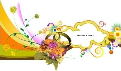 Indian clipart marriage invitation  Indian (Page invitation 1
