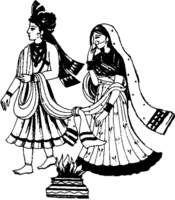 Ceremony clipart wedding artwork Indian Wedding Symbols Hindu Hindu